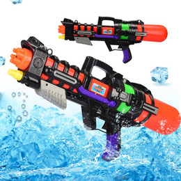 $enCountryForm.capitalKeyWord Australia - 2pcs Large Pressure water gun High Capacity Blaster Water Squirt Toys Summer Beach Toy Outdoor Sports game playing fun for kids Children