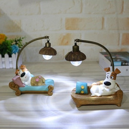 Gift Craft Christmas Ornament Australia - Cute vinyl soft ornament dog night light decoration Creative home craft birthday gift Silicone Mackerel Night Light