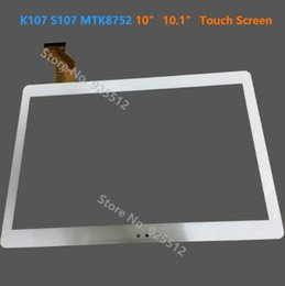 Touch Screen Window Tablets Australia - 10 inch touch screen 10.1 inch touch screen for K107 BK109 S109 10 Octa Core Tablet Free Shipping