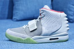 $enCountryForm.capitalKeyWord Australia - Authentic Air Yeezy2 Pure Platinum Red October Solar Red Men Basketball Shoes Sneakers With Box 508214-010 508214-660 508214-006