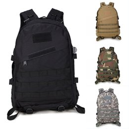 Styles Backpacks Australia - 11 Styles 55L 3D Camo Outdoor Climbing Backpacks Double Shoulder Tactical Backpack Waterproof Camping Hiking Rucksack Men Lage Bag G576F
