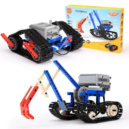 power blocks UK - Power machinery Building blocks Assembling toys for children Early education intelligence interesting kids toys car building blocks toy 07