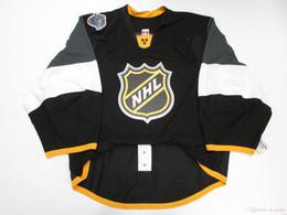 $enCountryForm.capitalKeyWord Australia - Cheap custom 2016 ALL STAR GAME DARK JERSEY GOALIE CUT 58 stitch add any number any name Mens Hockey Jersey