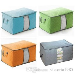 Chinese  wholesale home Portable Large Casual Travel Bag Non-woven Clothes Lage Storage Bags Anti-dust Storage Boxes Clothes Quilt Laundry Pillows manufacturers