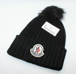 2019 New Stamping winter hats for men women knit Pom Poms hat cap Brand Beanie  Hat LadiesThicken Hedging Warm Skullies Female Bone f9b13176e58a