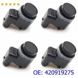 Alta calidad PDC sensor de aparcamiento por ultrasonidos 420919275 420 919 275 parachoques Objeto del sensor de di u A3 A4 A5 A6 A8 S S koda comer V W Piezas de coches en venta