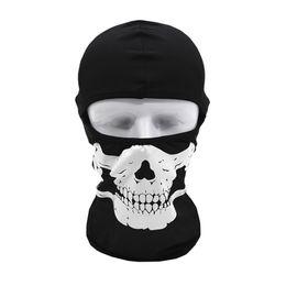 Discount tactical helmet face mask - Cycling Skull Face Mask Tactical Motorcycle Cycling Hunting Outdoor Ski Skull Face Mask Helmet Halloween masks