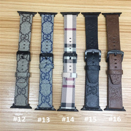 $enCountryForm.capitalKeyWord Australia - Leather Straps For Apple Watch Series 4 3 2 1 Bands Waistbands Luxury Watch Band for Iwatch 38 40mm 42 44mm Bands Wristband
