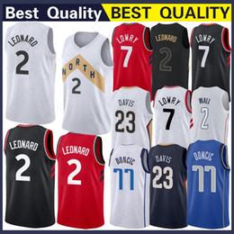 d3441fe9f Men Youth 2 Kawhi Raptors Leonard Jersey 7 Kyle 1 Tracy Lowry McGrady 15  Vince Top Quality Carter Jerseys