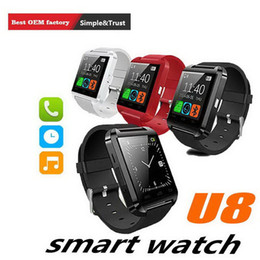 $enCountryForm.capitalKeyWord NZ - U8 Smart Watch Smartwatch Wrist Watches with Altimeter and motor for iPhone 7 6 6S Plus Samsung S8 Pluls S7 edge Android Apple Cell Phone