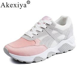 cheap ladies sports shoes NZ - Cheap Running Akexiya Spring Autumn Women's Sneakers 2020 Women Running Shoes Trending Sports Shoes Breathable Trainers Sneakers For Ladies