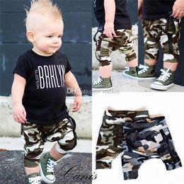 $enCountryForm.capitalKeyWord UK - 6M-4Y Fashion Summer Kids Baby Boy Camouflage Pants Bottom Kids Trousers Camo Zipper Pants Harem Pants Boy Cotton Clothes