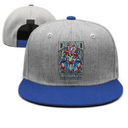 $enCountryForm.capitalKeyWord Australia - Grateful Dead skull kick off summer blue for men and women snap back,flat brimcap ball styles custom customize Hip Hop hats