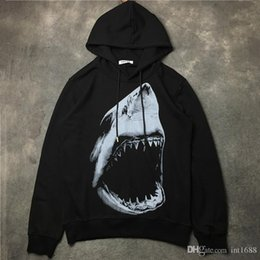 $enCountryForm.capitalKeyWord Australia - 2017 Autumn Winter Hot Sell Brand Men Fashion Shark Tooth Printing Pullover Coat Hoodie Men Casual Sports Long Sleeve Sweatshirt
