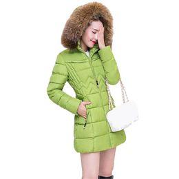 $enCountryForm.capitalKeyWord Australia - Ladies Winter Female Long Jacket Winter Coat Women Fake Fur Collar Warm Woman Parka Outerwear Down Jacket Winter Jacket Women