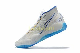 $enCountryForm.capitalKeyWord UK - Cheap Mens kd 12 basketball shoes Warriors Home White Blue new girls 90s kids kd12 kevin durant xii sneakers tennis size 5 13
