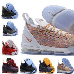 save off a96cb 3975e 2019 Ashes Ghost Blumengleichheit Lebrons 16 Basketballschuhe Männer Lebron  Schuhe 15s Sneaker 16s Herren Sportschuhe James 15 us 7-12