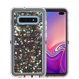 $enCountryForm.capitalKeyWord NZ - Hot Sale For Samsung S10 Plus Lite Cute Bling Liquid Glitter Floating Quicksand Water Flowing Ultra Cover Tpu Liquid Glitter Phone Case