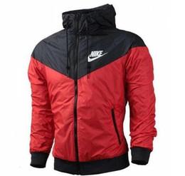 Chinese  Free shipping thin men's and women's brand sportswear &#78IKE men's sports jacket fashion windbreaker zipper large size hoodie manufacturers