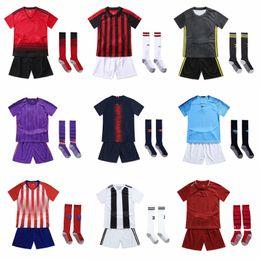 cc3048af466 Team Soccer Kits Uniform Canada - 18-19 kids soccer uniform 2018-19 kids