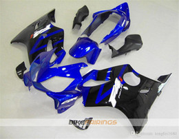 f4i fairings UK - Hot sales New Injection Mold ABS Motorcycle fairings kits Fit for HONDA CBR600RR F4i 2004 2005 2006 2007 Free custom Blue Black