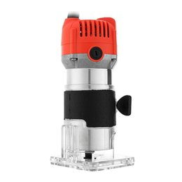 WoodWorking carving tools online shopping - 800W V Rpm Electric Hand Trimmer Wood Router Laminate Mm Durable Motor Diy Carving Machine Woodworking Power Tool