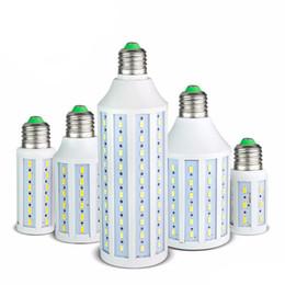 Chinese  7W 12W 15W 25W 30W 40W 50W LED Corn Bulb SMD5730 No Flicker 85V-265V LED lamp Spotlight For light & lighting manufacturers