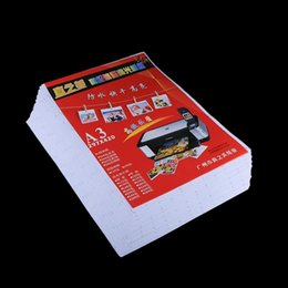 glossy photo papers UK - 50 Sheets 11.7 x 16.5 inch A3 Waterproof Glossy Photo Paper for Inkjet Printers