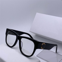 Double top plate online shopping - new fashion designer optical glasses plate frame top quality clear lens simple style transparent eyewear