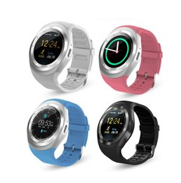 Discount smart watch cell phone for bluetooth - Y1 smart watchs for android smartwatch Samsung cell Phone watch bluetooth for apple iphone with retail package