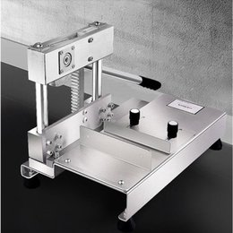 $enCountryForm.capitalKeyWord Australia - Stainless steel ribs guillotine machine cut ribs bone cutter machine Bone saws Bone cutter cutting machine