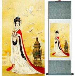 $enCountryForm.capitalKeyWord NZ - Portrait Painting Home Office Decoration Chinese Scroll Painting Women Art Paintingprinted Painting Ltw120508