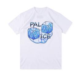 $enCountryForm.capitalKeyWord Australia - PALACEs 19SS PAL ICE T-SHIRT Summer Ice Dice Letter Print Short Sleeve T-Shirt Men and Women tee