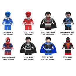 $enCountryForm.capitalKeyWord Australia - Super Hero Figures Toys The Avengers Toys Classic Action Figures DIY Building Blocks Bricks Mini 8pcs lot