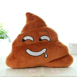 $enCountryForm.capitalKeyWord UK - Cushion Emoji Pillow Gift Cute Shits Poop Stuffed Toy Doll Christmas Present Funny Plush Bolster Cojines Pillow Cushion