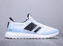 Toptan satış Ultra Boost 3.0 4.0 Üçlü Siyah Ve Beyaz Primeknit Oreo Cny Mavi Gri Erkek Bayan Koşu Ayakkabısı Ultra Boost Ultraboost Spor Sneakers