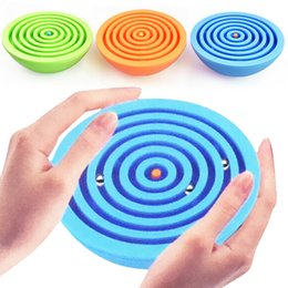 Discount puzzle maze ball - Children Blanace Maze Toy Kids Plastci Puzzle Game Toy Kids Early Educational Brain Teaser Toy Intellectual Maze Ball