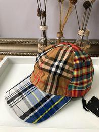 Uk Hats Australia - 19ss UK BBRY Colorful Women's Men's Hats Cap Summer Hat Caps Elegant Casquette Embroidery Baseball Hat