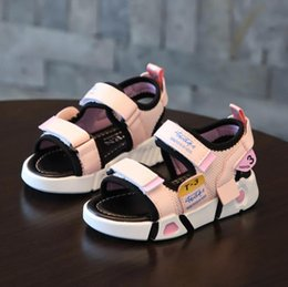 sandals kids NZ - Baby comfortable sandals 2020 summer new boy girls beach shoes kids casual sandals children princess fashion sport