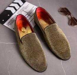 $enCountryForm.capitalKeyWord Australia - Men street trendsetter comfortable leather Flats Shoes Male Homecoming Dress Wedding gentleman shoes Sapato Social Masculino