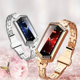 female smart watches NZ - B78 Smart Watch Female Fitness Bracelet Heart Rate Tracker Monitoring Blood Pressure Oxygen Smart Watch Bracelet for Lady
