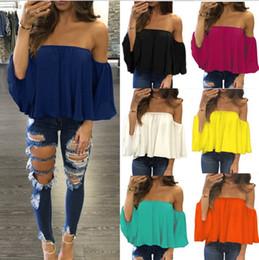 748d7faa8 Plus size off shoulder batwing toP online shopping - 7 Colour XS XL Sexy  Women Summer