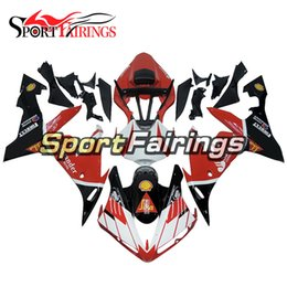 $enCountryForm.capitalKeyWord Australia - Santander SIKA Red White Black Injection Motorcycles Hull For Yamaha YZF1000 R1 Year 2004 2005 2006 Complete Plastic Fairing New Bodywork