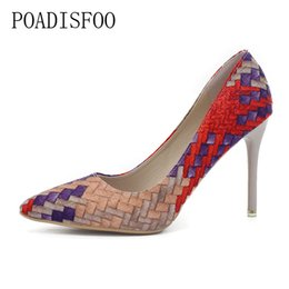 $enCountryForm.capitalKeyWord UK - 2019 Spring And Autumn New Retro Princess Pointed high-heeled Shoes Women Shoes Shallow Mouth Fine With Sexy Elegance .XXXY-F-168