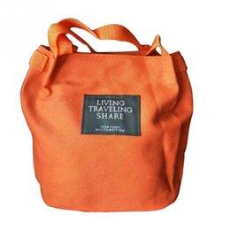 892eafa9e858 Дешевые 2018 новых женщин сумка холст Crossbody ведро Сумки мини сумки  посыльного для девочек дамы покупки дорожные сумки ~