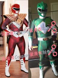 $enCountryForm.capitalKeyWord NZ - 3D Print Kyoryu Sentai Zyuranger Ranger Cosplay Costume Red Black Blue Pink Green White Rangers Custom Made Zentai Suit, Only Bodysuit