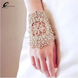 Chain Hairs NZ - bridal bracelet Fashion Bridal Bracelets Wedding Hair Accessories Crystal Hand Chain Bangles Silver Hair Accessories Arm Chains