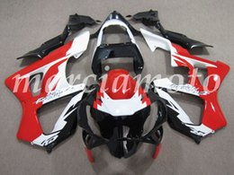 cbr929rr fairings UK - New (Injection molding) ABS Fairing Kits Fit For Honda CBR929RR 2000 2001 cbr929rr 00 01 Fairings set Red and white no1