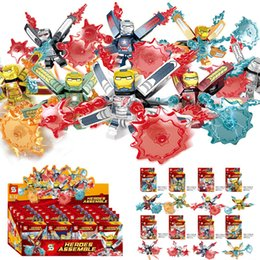 Super Blocks Australia - 8pcs lot Iron Man Avengers Super Hero Compatible Legoingly Figures Building Blocks Bricks Set Hulk Model Toys For Children