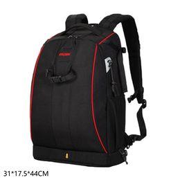 $enCountryForm.capitalKeyWord UK - Waterproof DSLR Camera Backpack Shoulder Storage Bag Black with Rain Zipper Cover